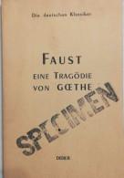 Faust Eine Tragodie Von Goethe - Other