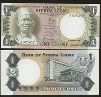 Siera Leone 1 Leone 1978 Pick 5b UNC - Sierra Leone