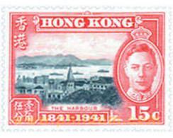 Ref. 653979 * MNH * - HONG KONG. 1941. 100 YEARS OF BRITISH RULE IN HONG KONG . 100 AÑOS DE GOBIERNO BRITANICO EN HONG - Unused Stamps