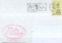 MARCOPHILIE - Aviso Escorteur Enseigne De Vaisseau Henry GEAOM 1990-91 Flamme Du PH Du 25 - 1 - 91. - Poste Navale