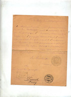 Lettre Franchise Cachet Metz 1888 - Covers & Documents