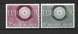 Timbre Belgique En Neuf ** N 1150/1151 - Unused Stamps