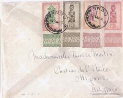Belle Lettre Congo 1948 - 1947-60: Covers