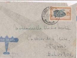 Belle Lettre Congo Kindu-port Empain 1949 - 1947-60: Covers