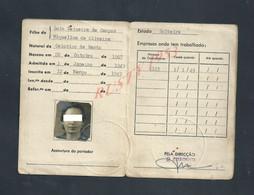 CARTE DA CAIXA SINDICAL HOTELEIRA NÉ EN 1907 NÉ A CELORICO DE BASTO PORTUGAL : - Portugal