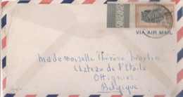 Belle Lettre Congo Kindu-port Empain 1948 - 1947-60: Covers