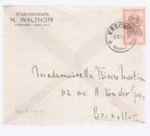 Belle Lettre Congo Kasongo  1958 - 1947-60: Covers