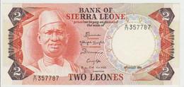 Siera Leone 2 Leone 1984 Pick 6 UNC - Sierra Leone
