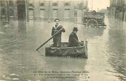 Lot De 40 CPA Inondations De Janvier 1910 Paris Et Région Parisienne Belles Animations - 5 - 99 Postales