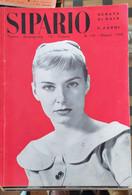 RIVISTA DI TEATRO E CINEMA - SIPARIO 1958 - CONDIZIONI DISCRETE - Cinema E Musica