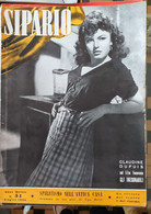 RIVISTA DI TEATRO E CINEMA - SIPARIO 1950  - CONDIZIONI DISCRETE - Cinema E Musica