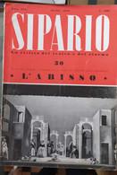 RIVISTA DI TEATRO E CINEMA - SIPARIO 1948 -  CONDIZIONI DISCRETE - Cinema E Musica