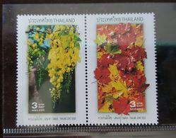 Thailand Stamp 2003 Canada Thai Joint Issue - Thailand