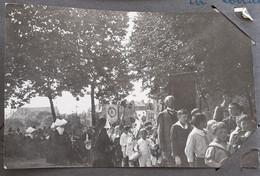 3 Photos FÊTE DIEU Dans  Metz Libérée En 1919 Catholiscisme Procession Moselle Lorraine 57 - 1914-18