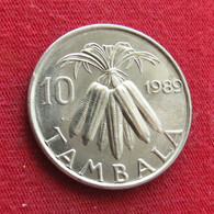 Malawi 10 Tambala 1989 KM# 10.2a Lt 515 *V2 Magnetic - Malawi