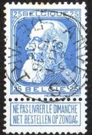 Belgique Belgie 1905 Leopold II Grosse Barbe N° 76 Cachet Anvers Départ TB Voir Scan - 1905 Thick Beard