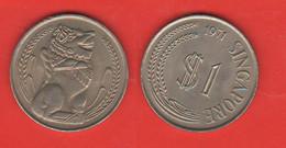 Singapore 1 Dollaro 1971 Malaysia Singapura Singapour - Singapore