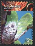 Peru 2017, 2018. Cochinilla Cactus. Producto De Exportcion.  Export Product.  MNH - Peru