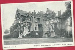 C.P. Rotheux =   Château LA  RIVIERE  à M. Paul VISSCHERS - Neupré