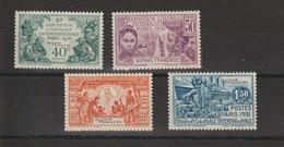 Guyane 1931 Expo Paris 133-136 4 Val ** MNH - Unused Stamps