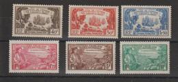 Guyane 1935 Tricentenaire Des Antilles Série 137-142 6 Val ** MNH - Unused Stamps