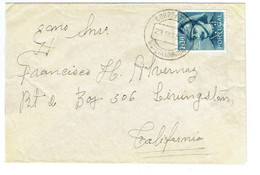 Azores S CAETANO HORTA Letter To US (642) - Azores