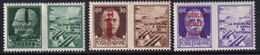 RSI Propaganda 1942 Serie Completa Sass. 25/36 MH* Cv 8 - Neufs