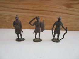 Soldat  Kinder Métal  3 Romain Centurion Légionnaire - Figurine In Metallo