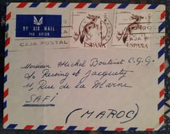 Espagne Pour Safi Maroc ( Le 14 07 1970) Espagne - 1961-70 Covers