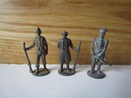 Soldat  Kinder Métal  3 Jahrhundert Geimener Hauptman - Figurine In Metallo