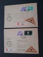 Liechtenstein 1939 à 1994: Lot De 16 Lettres - Collections