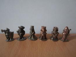6 Soldat  Kinder Métal Die Alte Burg - Figurine In Metallo