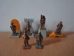 6 Soldat  Kinder Métal Schweizer Garde - Figurine In Metallo