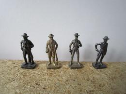 Soldat  Kinder Métal Cowboys Scame - Figurine In Metallo