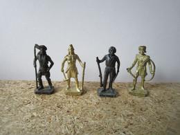 Soldat  Kinder Métal Indiens Scame - Figurine In Metallo