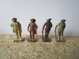 4 Soldat  Kinder Métal Mousquetaires Scame - Figurine In Metallo