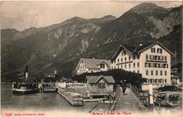 Brienz - Hôtel De L'ours (1906) - BE Berne