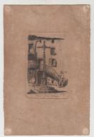 EAU FORTE CHARLES JAFFEUX - ROYAT CROIX GOTHIQUE - Engravings