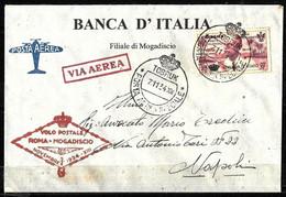 E-921 - ITALY - CIRENAICA - 1934 - RRR SERVIZIO DI STATO - COVER - FORGERY, FALSE, FAUX, FAKE, FALSO - Zonder Classificatie