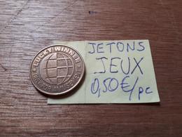 JETON LUCKY WINNER FH (FUN HOUSE ESPACE JEUX) - Casino