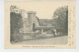 BELGIQUE - LIEGE - PEPINSTER - Entrée Du Parc Des Mazures (1900) - Pepinster