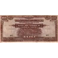 MALAISIE - MALAYA - PICK M8 C - 100 DOLLARS - NON DATE (1944) - MT - - Malasia