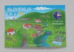 Slovenie-Slovenia 2021 Toerisme Dolenjska EDEN - Europese Gedachte