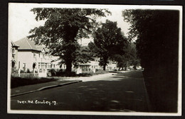 RPPC - Cowley - Uxbridge - Iver Road / Iver Lane - Circulated 1951 - See Scans - Middlesex