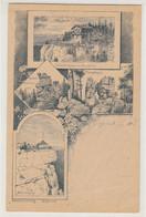 VORLÄUFER  1892 , Litho  , Hütte ,  Hiking - Unclassified