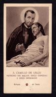 S. CAMILLO DE LELLIS  -  CON RELIQUIA - Mm. 60 X 108 - Religione & Esoterismo