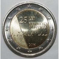 SLOVENIE - 2 EURO 2016 - INDEPENDANCE - SUPERBE A FLEUR DE COIN - - Slovénie