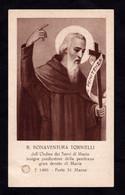 B. BONAVENTURA TORNIELLI  -  CON RELIQUIA - Mm. 68 X 113 - Religione & Esoterismo