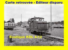 BVA 681-12 - Locotracteur CFD En Gare - ANDELOT - Jura - CF Doubs - Other Municipalities