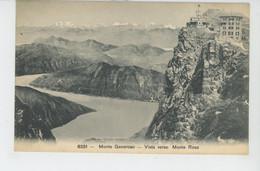 SUISSE - MONTE GENEROSO - Vista Verso Monte Rosa - TI Tessin
